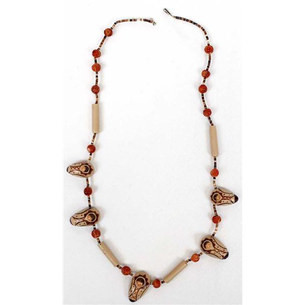 1988 Clay Cradleboard Necklace by Tojca