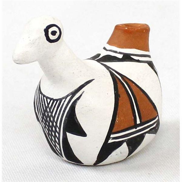 Acoma Polychrome Pottery Bird Jar by A. Corpuz