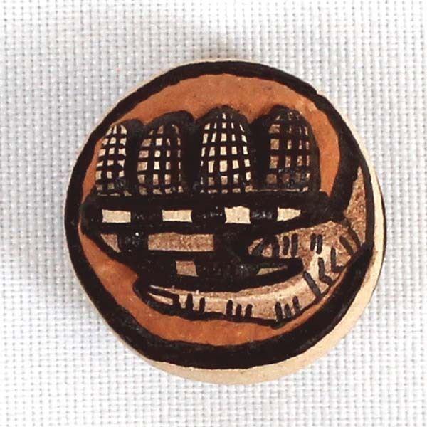 Hopi Pottery Bowl by Marty Naha & Elvira Nampeyo