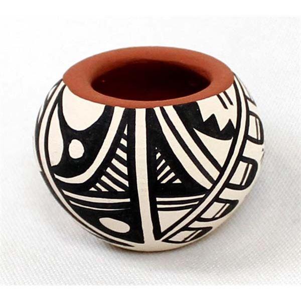 Small Jemez Pottery Bowl by B. Yepa