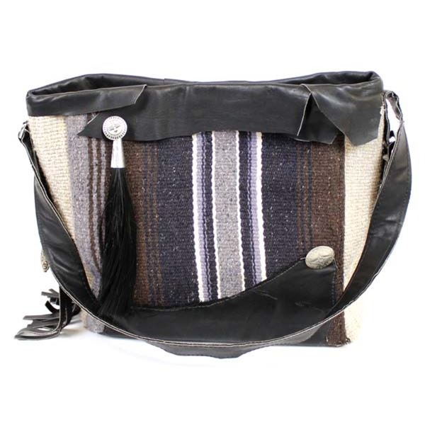 Quail Ridge Studios One of Kind Hand Woven New Mexico Churro Wool Purse by George Smith