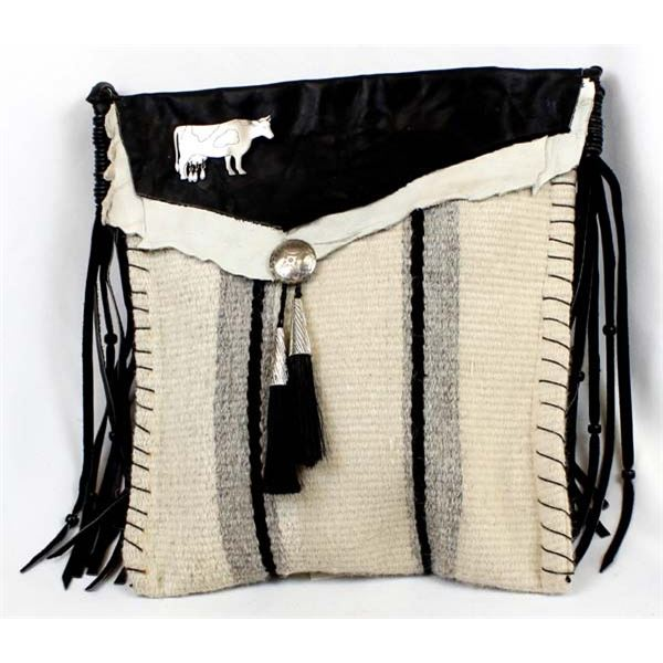 Quail Ridge Studios One of Kind Southwestern Hand Woven Purse by George Smith