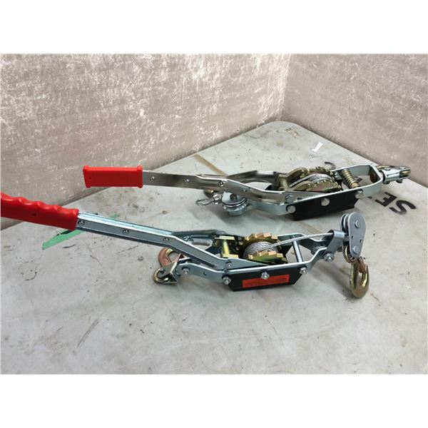 Set of 2 hand pullers