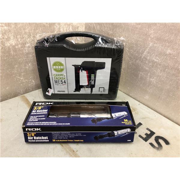 Cadex carpet tacker ME54 & ROK air ratchet 3/8in