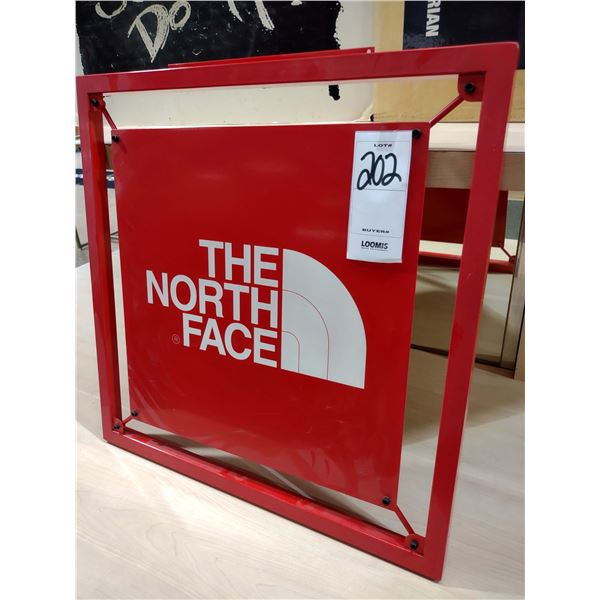 THE NORTH FACE[x=#174/] LARGE METAL DISPLAY SIGN
