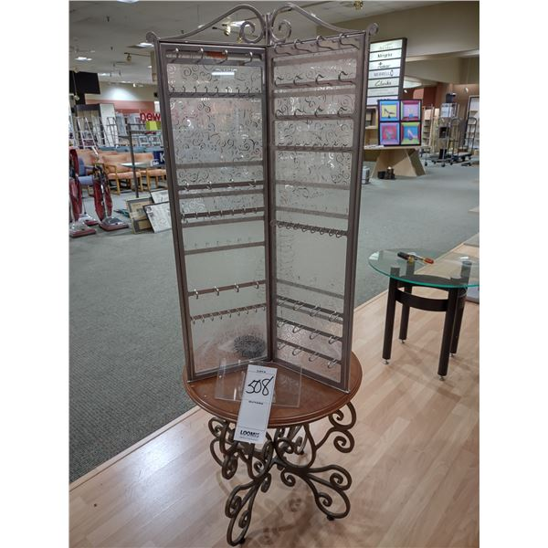 LIKE-NEW ORNATE SPINNING JEWELRY OR ANY USE DISPLAY (APPROX. COST $500.00)