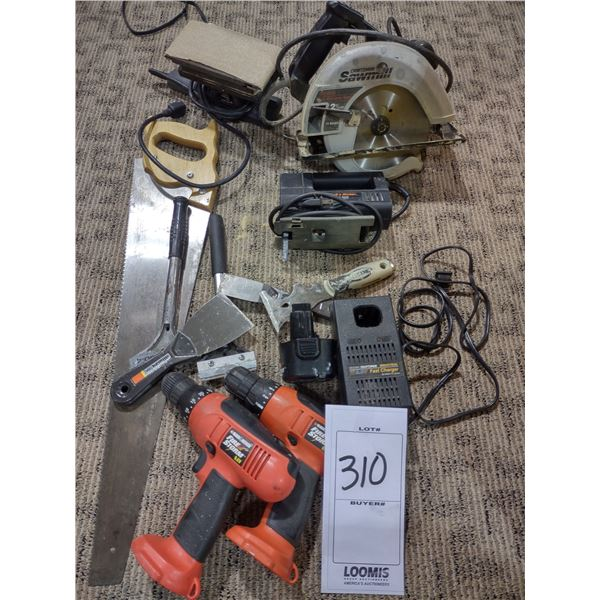 ASSORTED TOOL LOT (ALL WORK)