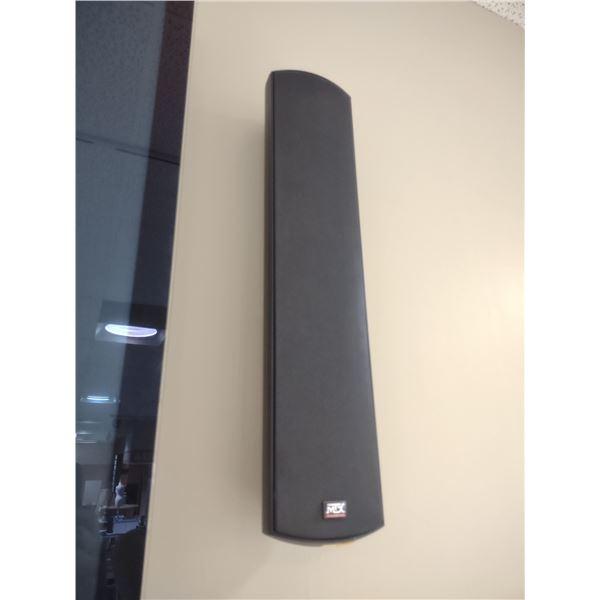 TALL WALL MOUNT MTX AUDIO SPEAKERS (2 PC SET)