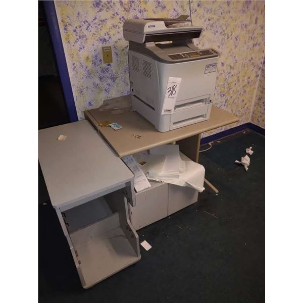 COPIER AND FURNITURE LOT