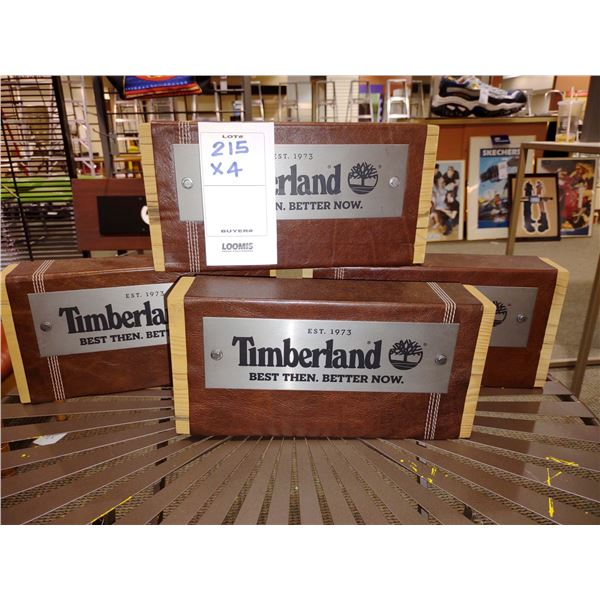 """TIMBERLAND WOOD BLOCKS, 12""""L X 6""""H X 2 5/8"""" THICK (X4)"""