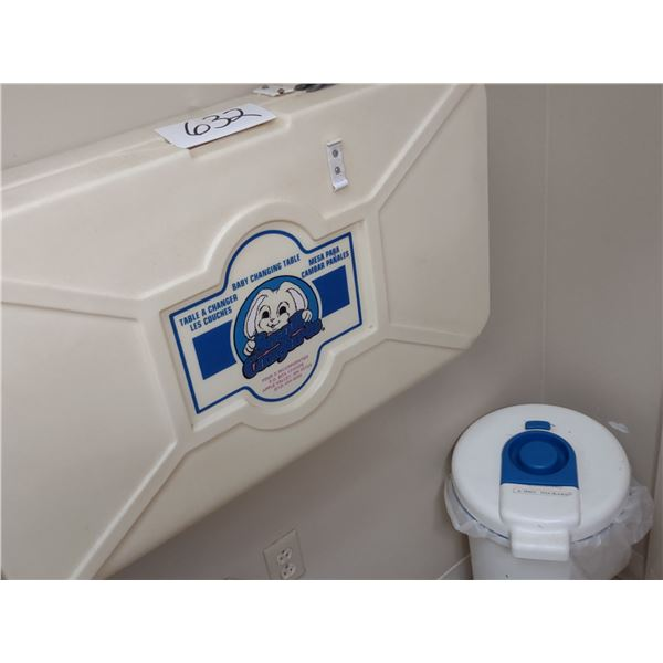 SMALL COMFORTS BABY DIAPER CHANGING STATION AND DIAPER DISPOSAL