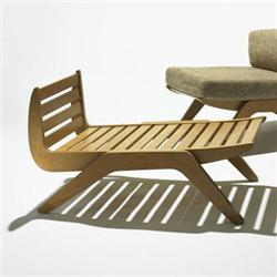Charlotte Perriand Tokyo lounge chair Galerie