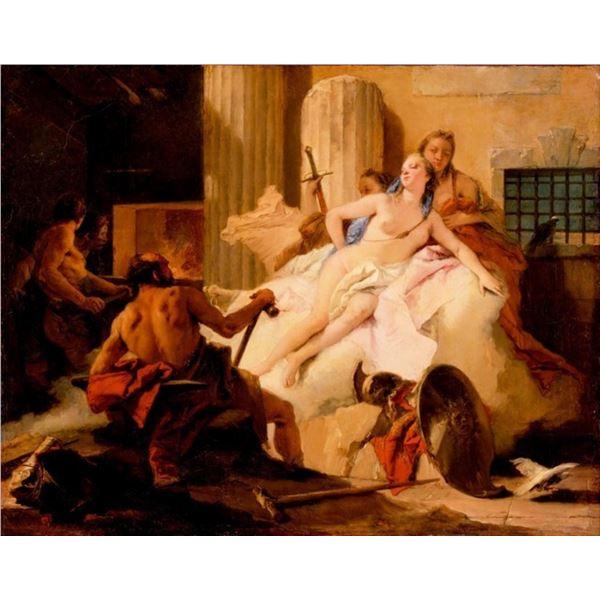 Tiepolo - Venus and Vulcan