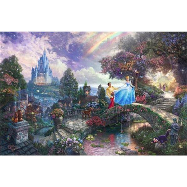 Cinderella Wishes Upon a Dream by Thomas Kinkade