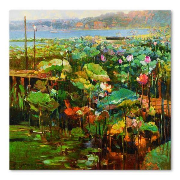 Lakeside Lagoon by Feng Original