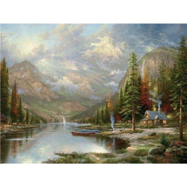 Mountain Majesty by Thomas Kinkade