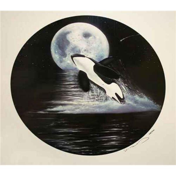 """Robert Wyland """"ORCA MOON"""""""