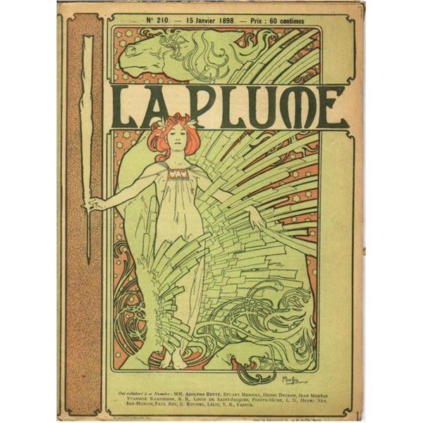 Alphonse Mucha - La Plume