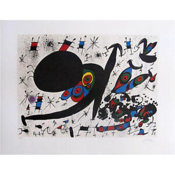 "Joan Miro ""Homage to Joan Pratts"""