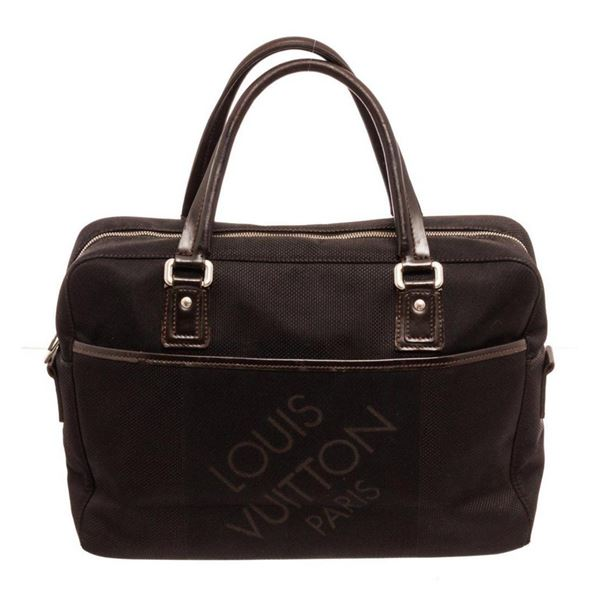 Louis Vuitton Black Yack Briefcases