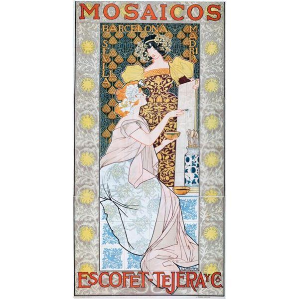 Alexandre de Riquer - Mosaicos