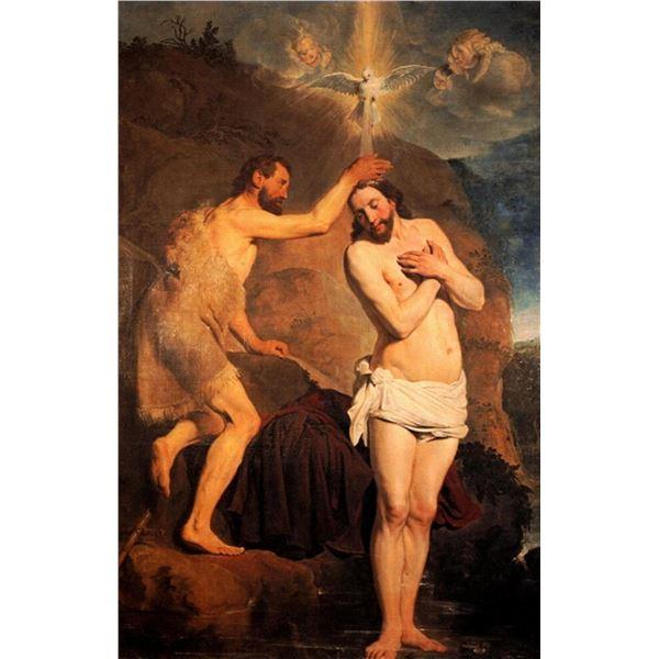 Pieter Fransz de Grebber- Baptism of Christ