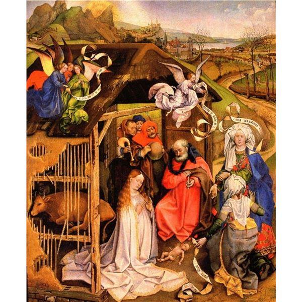 Robert Campin -Birth of Christ