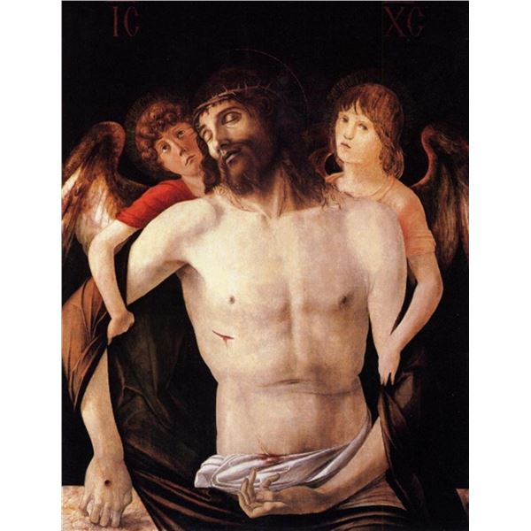 Giovanni Bellini - The Dead Christ Supported by an Angel