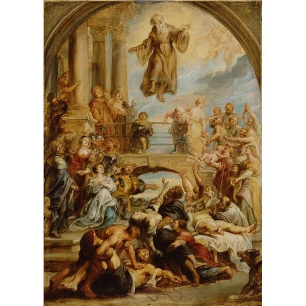 Sir Peter Paul Rubens - The Miracles of Saint Francis of Paola