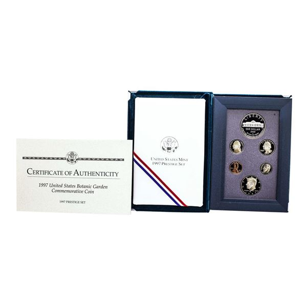 1997 United States Prestige Proof Silver (6) Coin Set