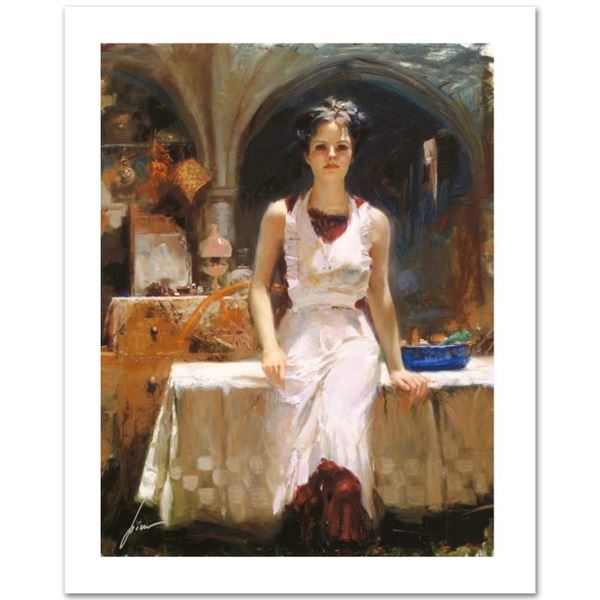 """Pino (1939-2010) """"Deborah Revisited"""" Limited Edition Giclee On Canvas"""