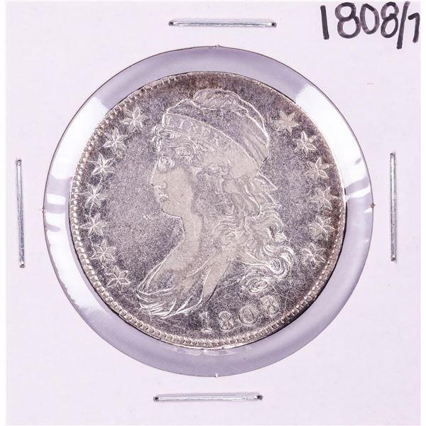 1808/7 Capped Bust Half Dollar Coin