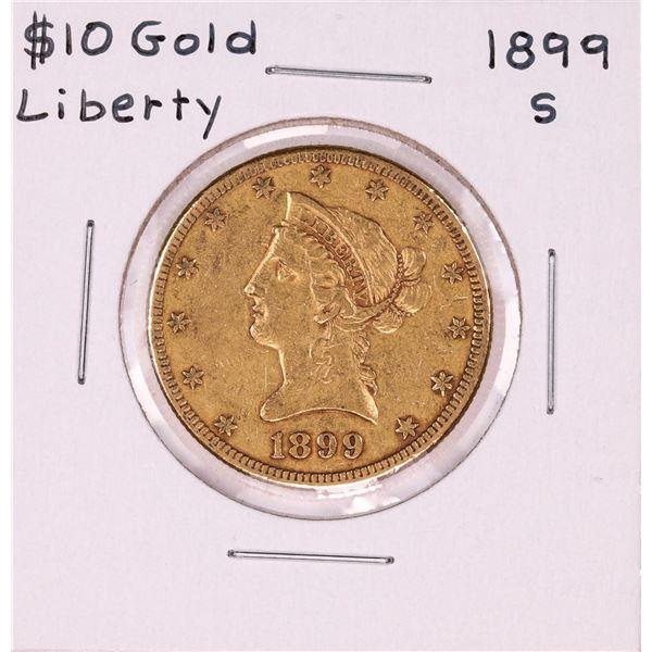 1899-S $10 Liberty Head Eagle Gold Coin