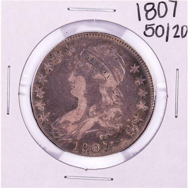 1807 50/20 Draped Bust Half Dollar Coin