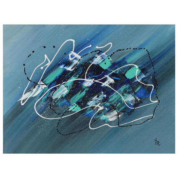 "Marlowe ""Oceania"" Original Acrylic On Canvas"
