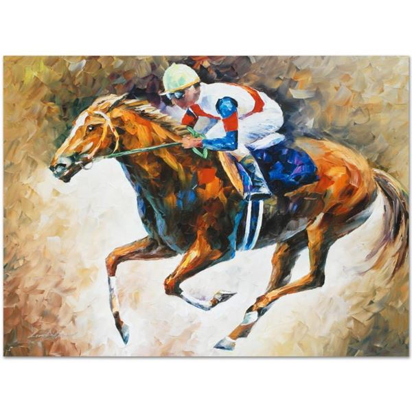 """Afremov (1955-2019) """"First"""" Limited Edition Giclee On Canvas"""