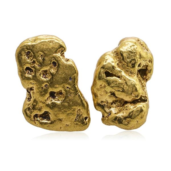 Lot of 4.46 Grams Total Weight Yukon Gold Nuggets
