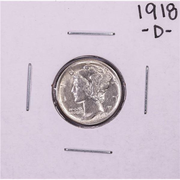 1918-D Mercury Dime Coin