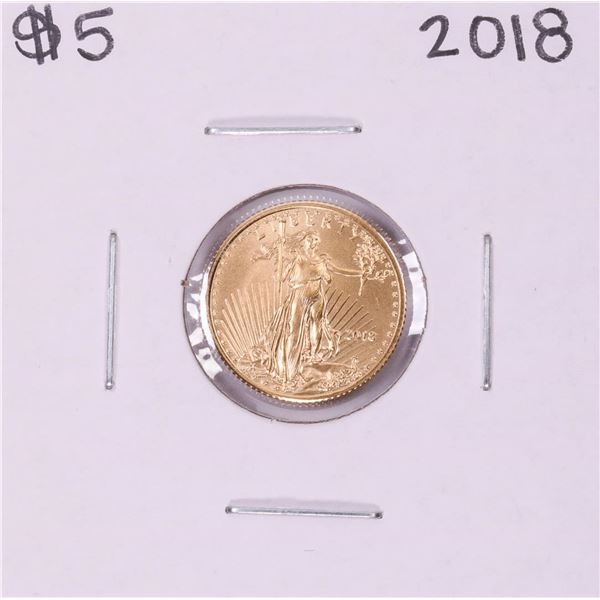 2018 $5 American Gold Eagle Coin