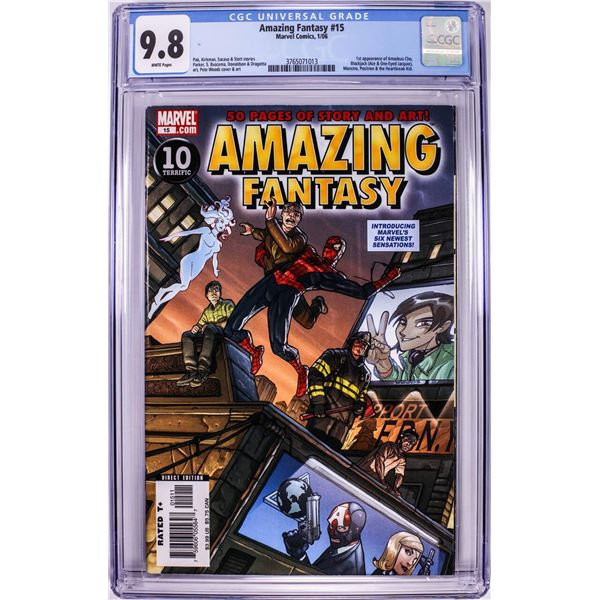 Marvel Comics Amazing Fantasy #15 Comic Book 1/06 CGC 9.8