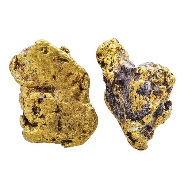 Lot of Gold Nuggets 3.24 Grams Total Weight