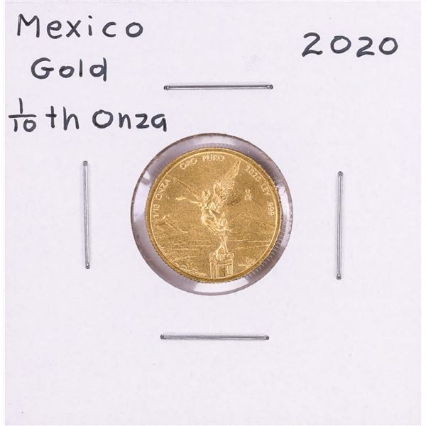 2020 Mexico Libertad 1/10 oz Gold Coin