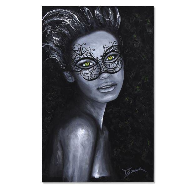 "Mezak ""Jade"" Original Acrylic On Canvas"