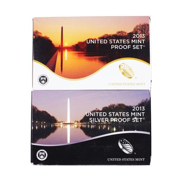 Lot of (2) 2013 United States Mint Proof Sets