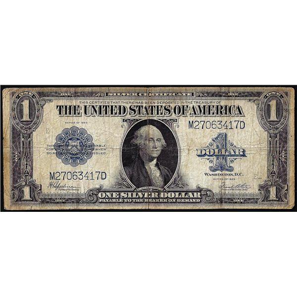 1923 $1 Silver Certificate Note Fr.237