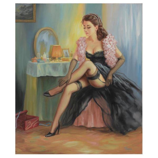 "Taras Sidan ""Melissa"" Limited Edition Giclee On Canvas"