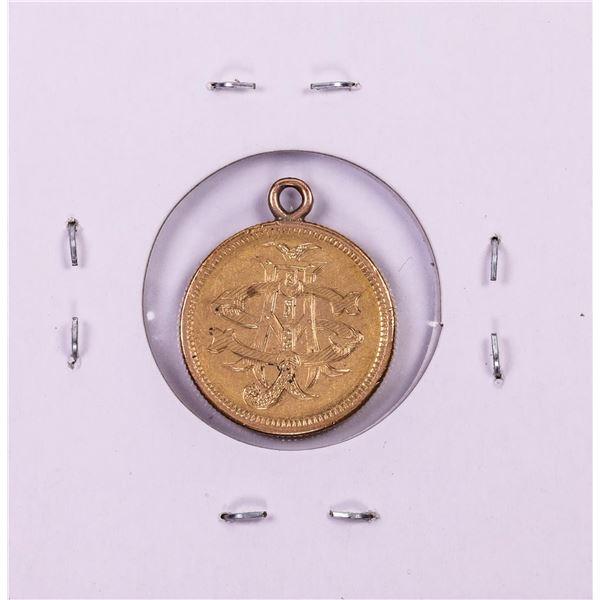 1878 $2 1/2 Liberty Head Quarter Eagle Gold Love Token Coin