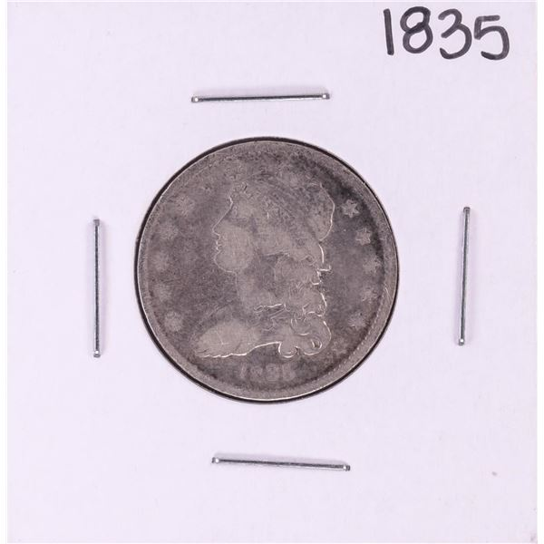 1835 Capped Bust Quarter Coin