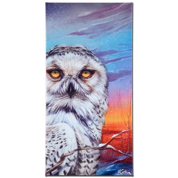 """Martin Katon """"Visitor From The Arctic"""" Limited Edition Giclee On Canvas"""