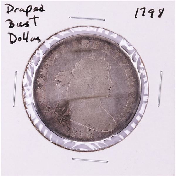 1798 $1 Draped Bust Silver Dollar Coin